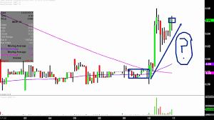 Imnp Stock Chart Immune Pharmaceuticals Inc Imnp Stock Chart Technical Analysis For 01 10 18