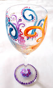 Wine Glass Decorating Designs The Greatest Glass Painting Ideas E100 100 100 Inspirational Home 47