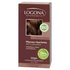 Logona Hair Dye Color Chart Herbal Hair Colour 060 Walnut Brown