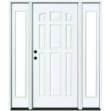 home depot front doors with sidelightsSingle door with Sidelites  Steel Doors  Front Doors  The Home