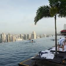 infinity pool singapore. Photo Of Sands SkyPark Infinity Pool - Singapore, Singapore
