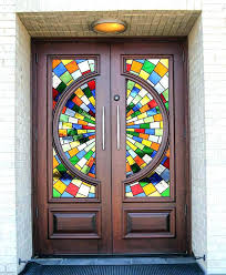 stained glass panel interior doors door panels for stained glass interior sliding doors for