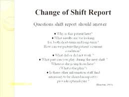 Daily Shift Report Template Daily Shift Report Format To Template End Of Ecosolidario Co