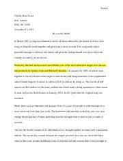 literacy narrative essay final draft kala carroll essay  2 pages essay 4 rough draft odt