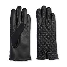 clearance 63 off quilted faux leather gloves