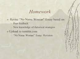 "no w "" and rhetorical strategies mr josefino rivera jr  2 homework  revise ""no w "" essay"