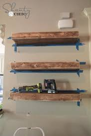diy rustic floating shelves morespoons 7ba70fa18d65