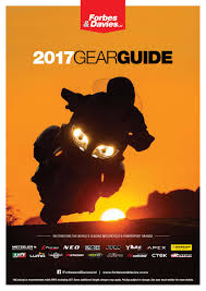 2017 Gear Guide Road Edition By Forbes Davies Ltd Issuu