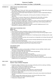 Transportation Resume Examples Transportation Resume Samples Velvet Jobs