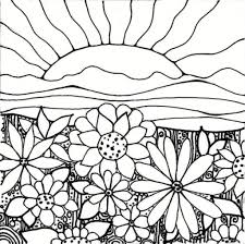 Spring Garden Coloring Pages Cooloring with regard to Flower ...