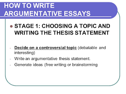 argumentative essay argumentation the aim of writing 10 how to write argumentative