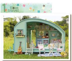 diy doll furniture. DIY Doll House Wooden Houses Miniature Dollhouse Furniture Kit Toys For Children Gift Time Travel Diy