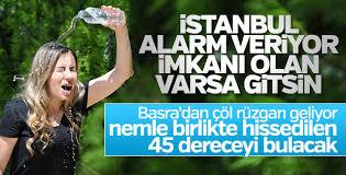 Meteoroloji yetkilileri İstanbul için alarm verdi