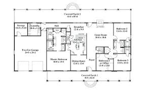 rectangular house plans rectangular 2 story house plans rectangle house plans ranch style house plan 2
