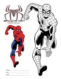 Recommend him about the amazing spiderman coloring pages from some websites. Spiderman Coloring Pages And Dozens More Free Printable Design Themes