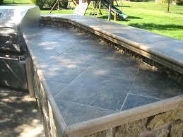 outdoor kitchen countertops outdoor kitchen tile outdoor kitchen tile countertop ideas