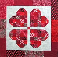 Try these valentine's day messages and ideas from hallmark card writers! Making A Valentine S Day Four Heart Table Topper