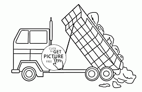 Moving truck drawing at getdrawings free for personal use garbage truck to color 2080x1349 dump