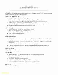 Sample Resume For Entry Level Automotive Technician Fresh Auto