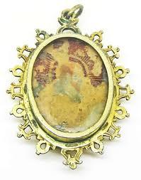 reliquary pendant saint lucy