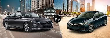 Honda Accord Model Comparison Chart Differences Between 2018 Honda Accord And 2018 Civic