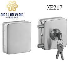 double door stainless steel glass door lock glass lock clamp fitting xe217