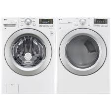 lg washer and dryer. lg 5.2 cu. ft. he front load washer \u0026 7.4 electric dryer - white : best buy canada lg and m