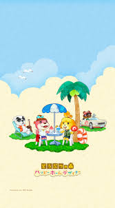 Small Picture Cute summer Animal Crossing Happy Home Designer wallpapers from