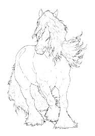 Printable Realistic Horse Coloring Pages Free Printable Horse