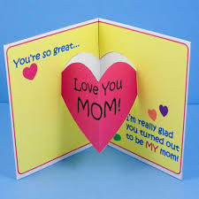 Mother Day Card Make Mothers Day Pop Up Card Mothers Day Crafts Aunt Annies