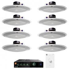 jbl 8138. retail sound system with 8 jbl 8138 in-ceiling loudspeakers and csma 180 mixer amplifier jbl
