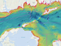 What Do The Colors Denote In A Bathymetric Chart Underwater Frontiers A Brief History Of Seafloor Mapping