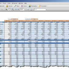 Business Valuation Report Template Worksheet | Fern Spreadsheet