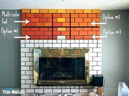 fireplace paint colors fireplace paint colors fireplace paint colors maybe a white with dark grout and