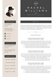 Creative Resume Template 3 Page Cv Cover Letter For By Endowed More