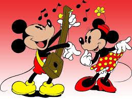 mickey and minnie guitar wallpaper 1024x768