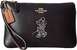 Box Program Minnie Motif Small Wristlet   169 Disney x COACH