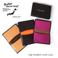 butler burner sails butler verner sails ticket leather card case genuine leather business card case card