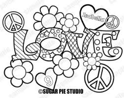 Small Picture Love coloring page Etsy