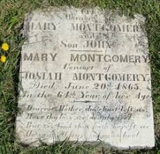 """Mary """"Polly"""" Barnett Montgomery (1801-1865) - Find A Grave Memorial"""