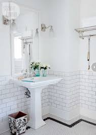 Bathroom Vintage Bathroom Tiles White Tile Bathrooms Designs Black