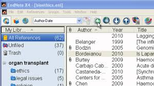 Endnotes References Endnote Adding References Manually