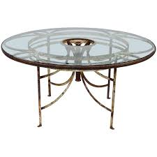 glass patio table french iron and glass outdoor garden dining table round glass patio table replacement