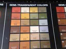 Sherwin Williams Semi Transparent Stains For Deck Fence In