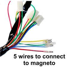 wiring harness loom solenoid coil rectifier cdi 50 70 90cc 125cc atv quad bike