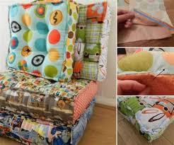 floor cushions diy.  Cushions Creative Ideas DIY Cute Waffle Cushion For Floor Cushions Diy