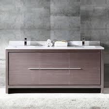bathroom furniture modern. Fresca Allier 72-inch Grey Oak Modern Double Sink Bathroom Cabinet With Top  And Sinks Bathroom Furniture Modern
