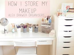 Makeup Table Makeup Storage Ikea Alex Drawers Ikea Malm Dressing Table Alex