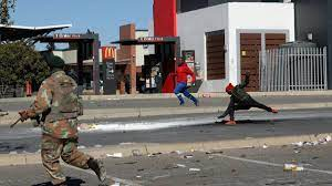 Chaos spreads in South Africa as ...