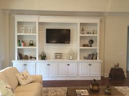 In Wall Entertainment Cabinet Christmas Living Room With Bookcases Converted Into Built Ins